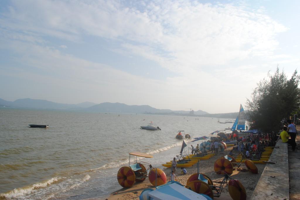 深圳 較場尾海灘 水上活動