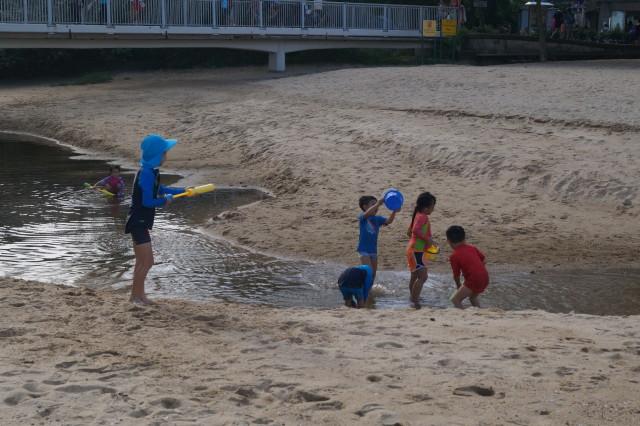 梅窩 銀礦灣 玩水