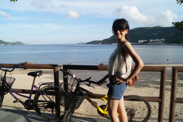 梅窩 銀礦灣 單車