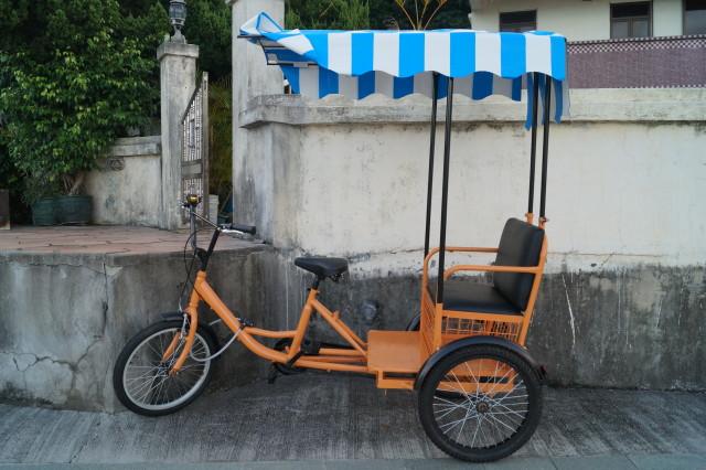梅窩 銀礦灣 三輪車