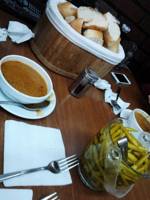 土耳其 豆湯 辣椒