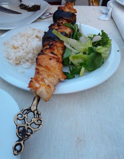 土耳其 串燒雞肉