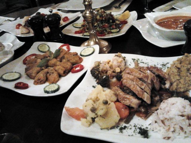 土耳其 晚餐