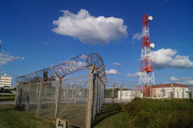 沖繩 讀谷 電塔