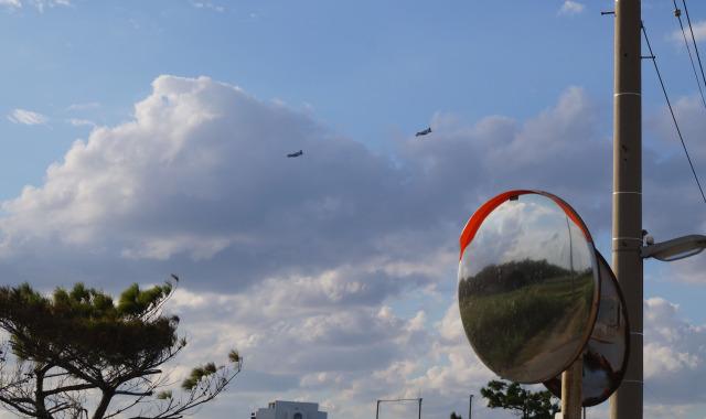 沖繩 讀谷 美軍軍機
