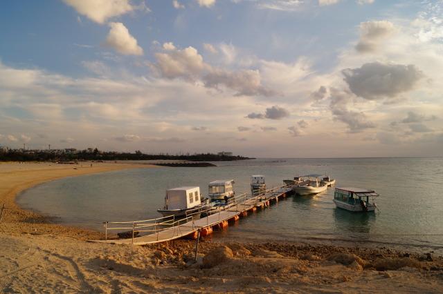 日本 沖繩 殘波海灘