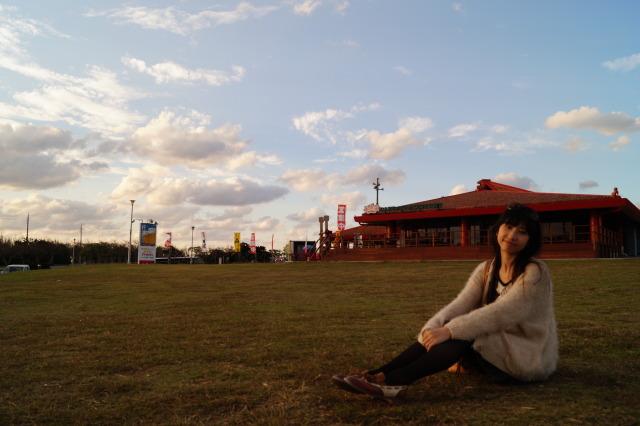 沖繩 殘波岬公園 草地