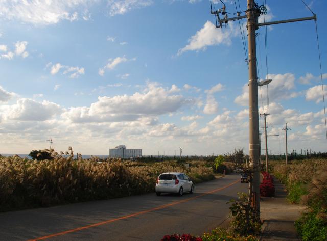 沖繩 殘波岬 公路