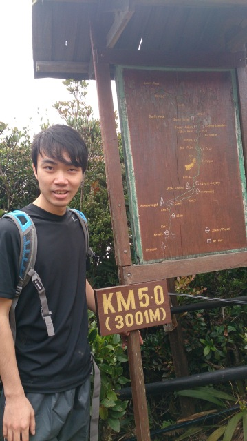 沙巴 神山 5KM