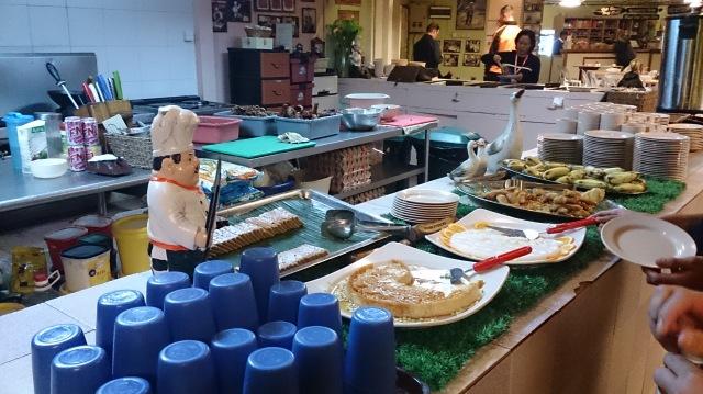 沙巴 神山 旅館 laban rata 自助餐