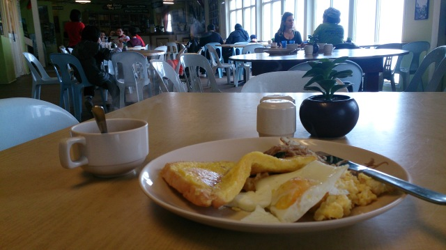 沙巴 神山 旅館 laban rata 早餐