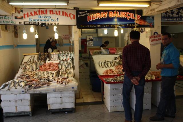 土耳其 魚市場