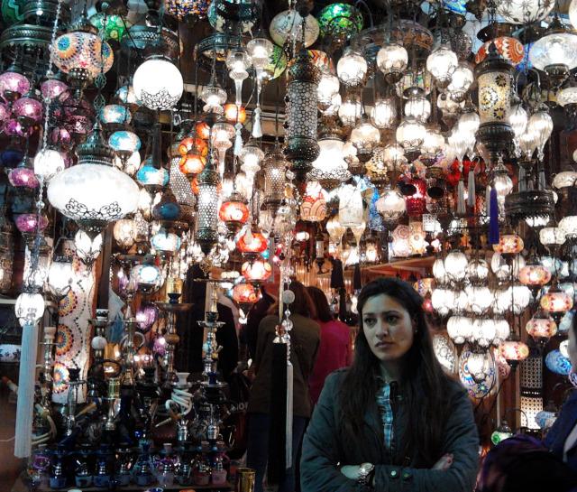 土耳其 伊斯坦堡 grand bazaar燈飾