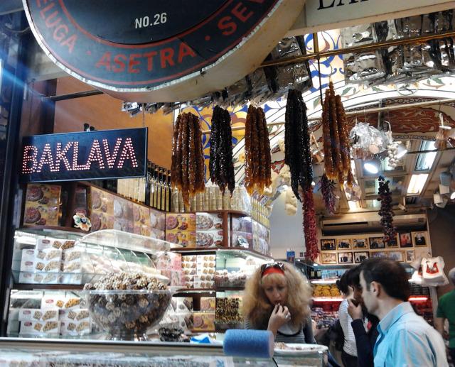 土耳其 伊斯坦堡 grand bazaar肉腸