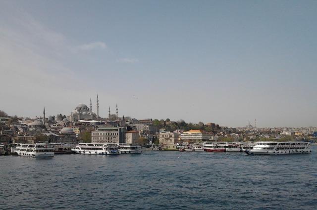 土耳其 伊斯坦堡 博斯普魯斯海峽