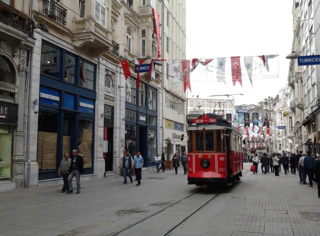 土耳其 伊斯坦堡 有軌電車