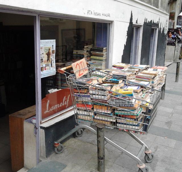 土耳其 伊斯坦堡 舊書攤