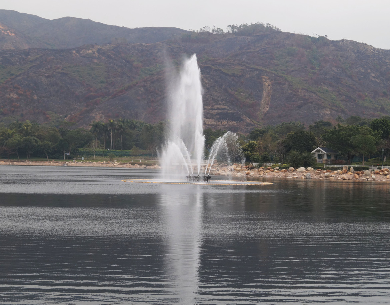 迪欣湖噴泉