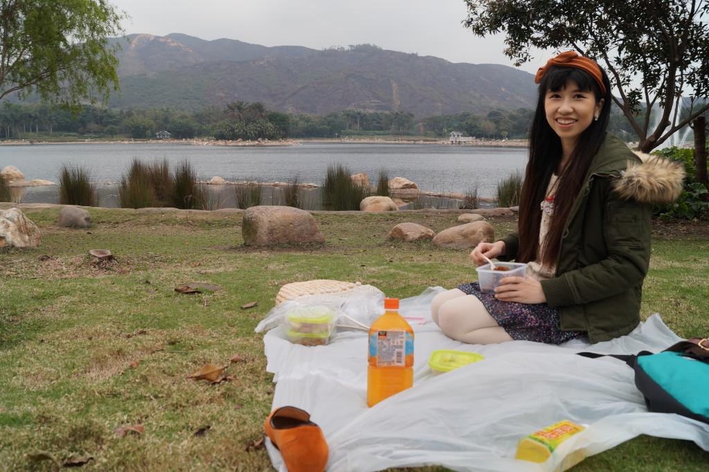 迪欣湖 野餐