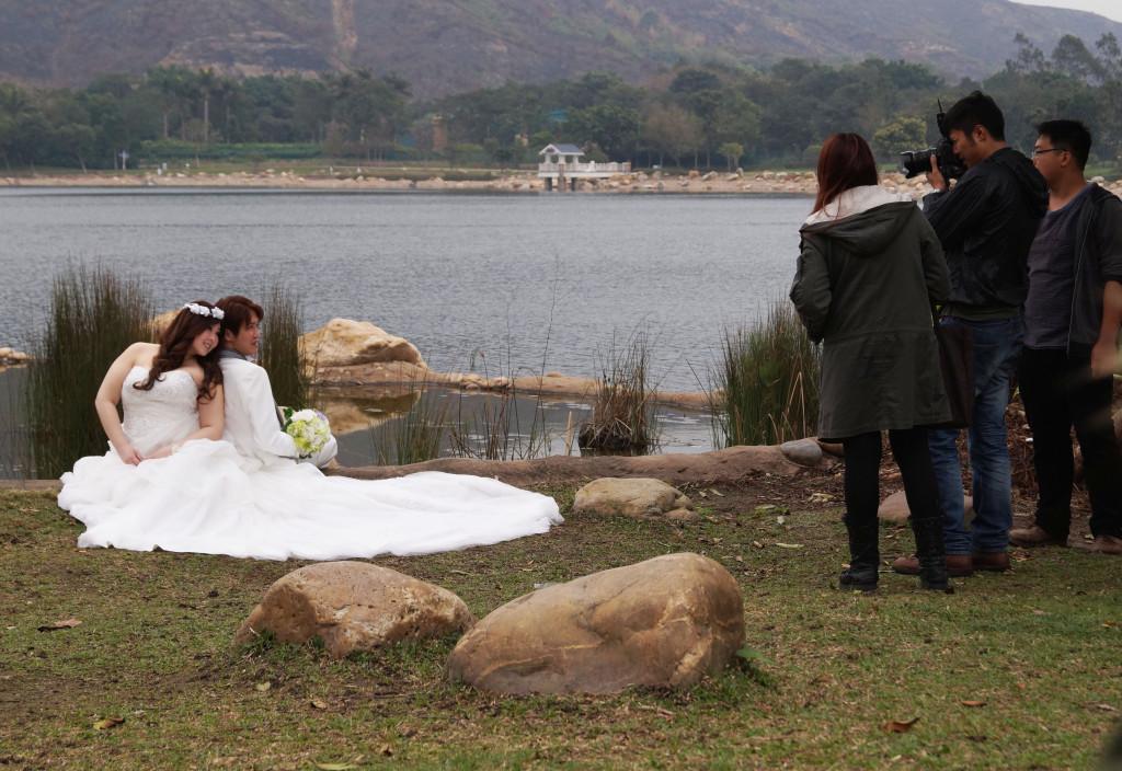 迪欣湖影婚紗照