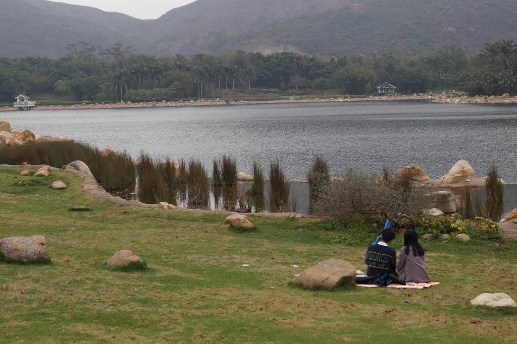 迪欣湖 野餐2