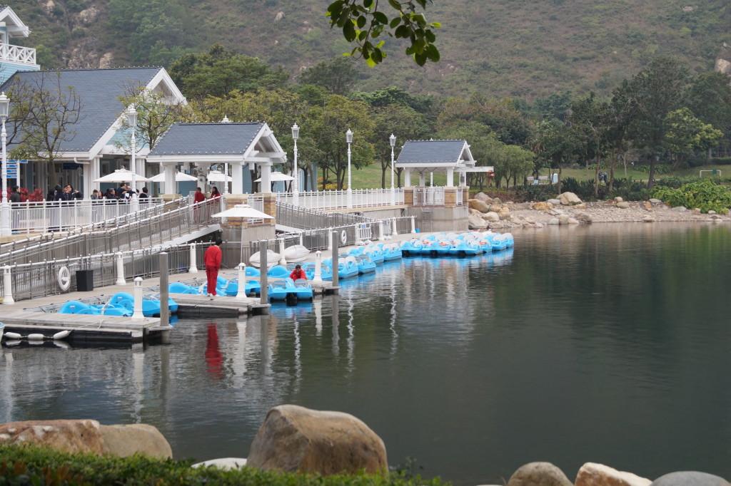 迪欣湖 遊船碼頭