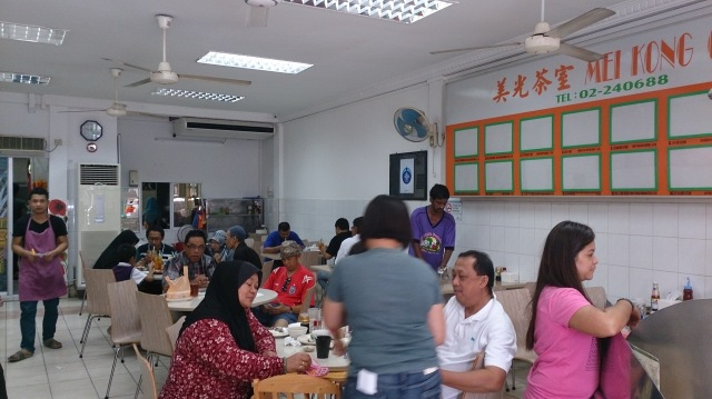 汶萊斯里巴加灣 美光茶室