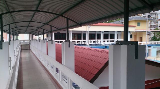 汶萊斯里巴加灣 pusat belia 走廊