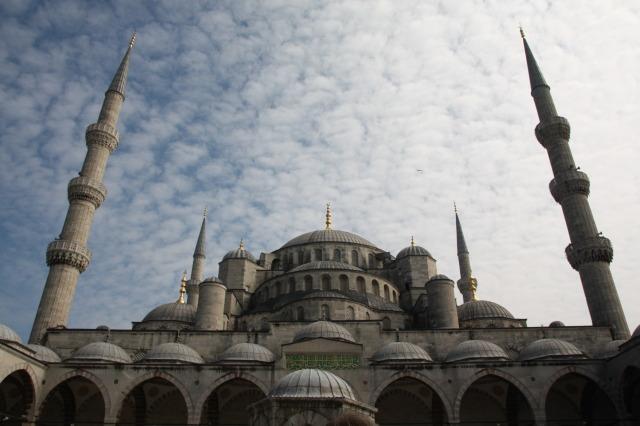 土耳其 伊斯坦堡 藍色清真寺