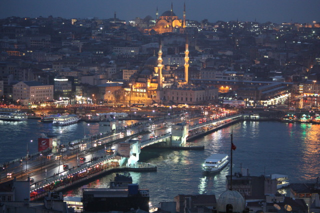 土耳其 伊斯坦堡夜景