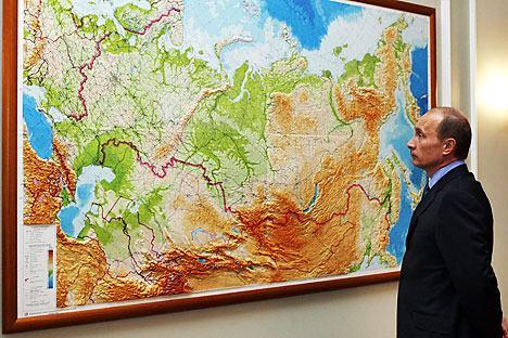 普京望地圖