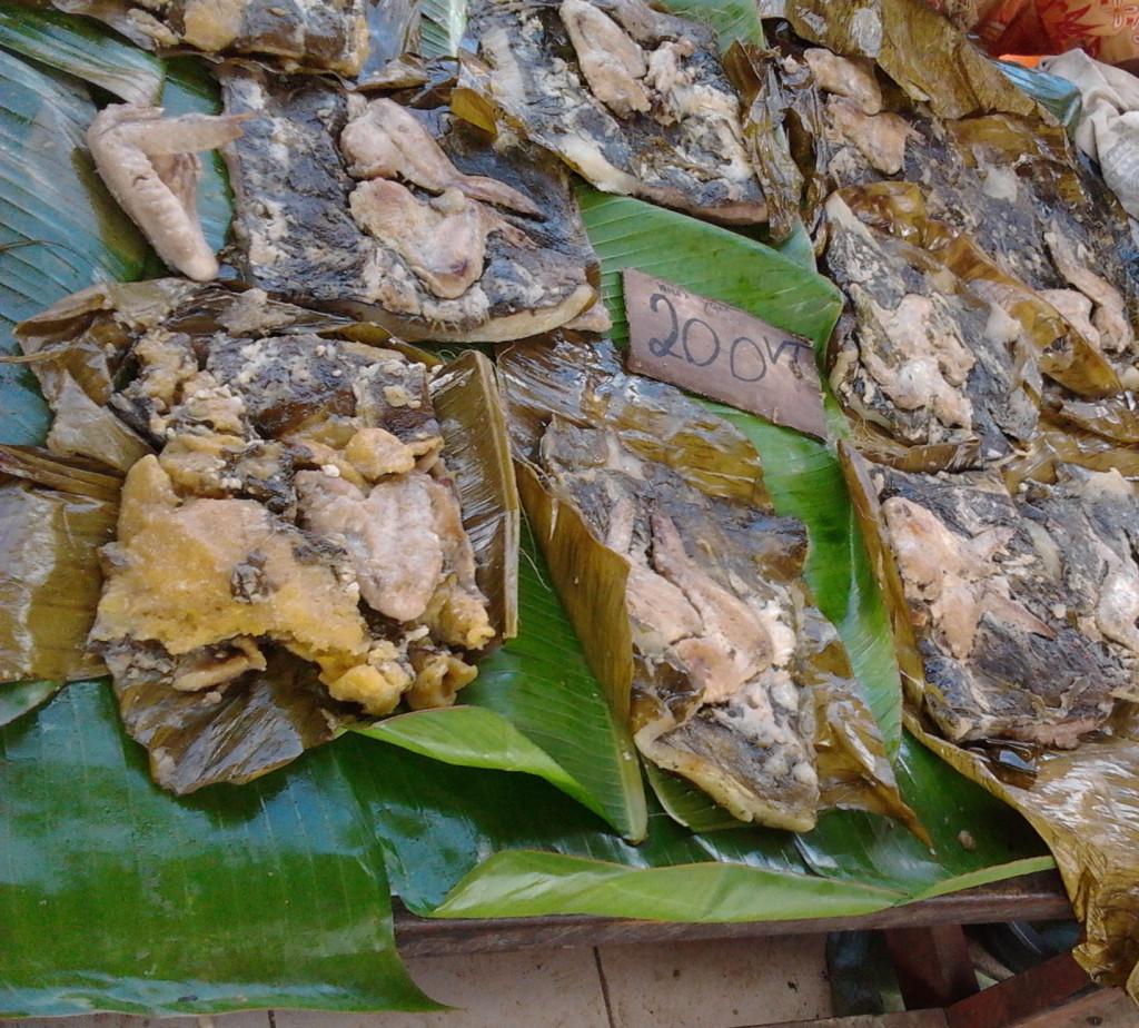 瓦努阿圖維拉港中央市場 特色食物