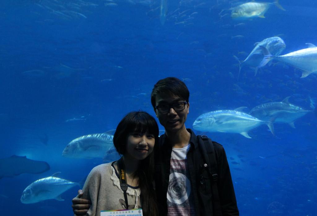 沖繩美麗海水族館 合照