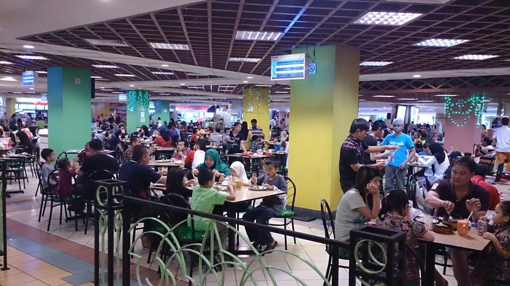 汶萊 加東商場 food court