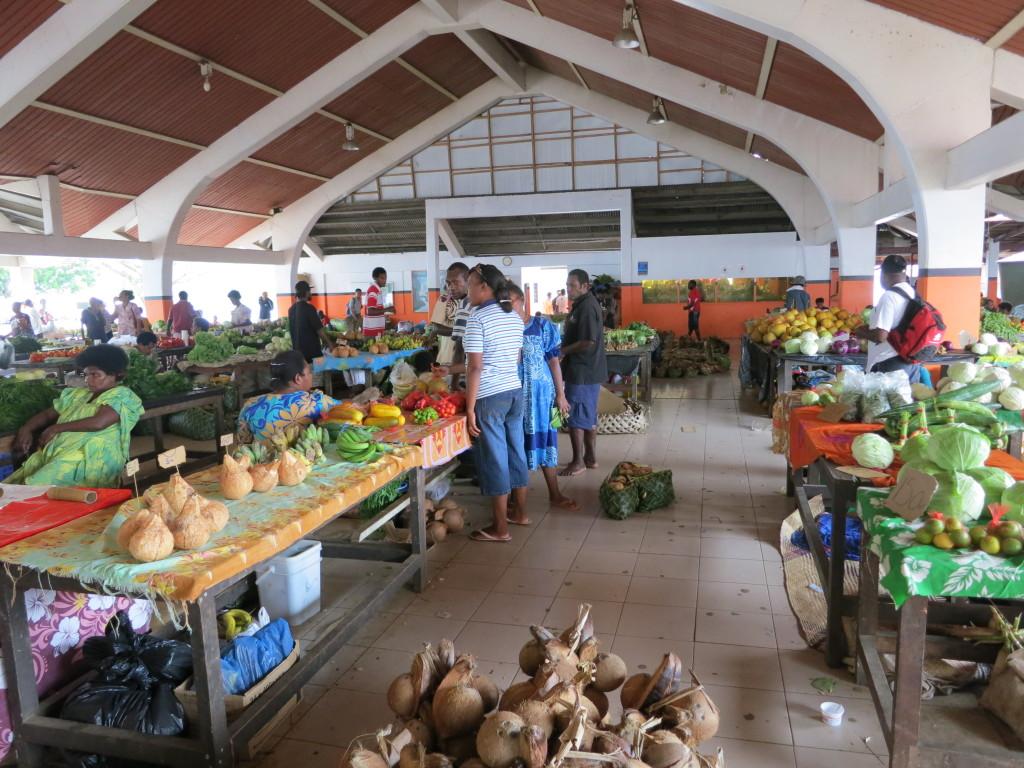 瓦努阿圖維拉港中央市場