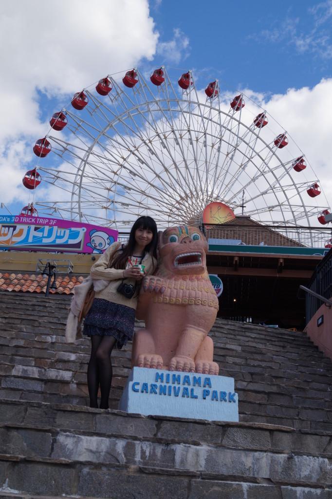 沖繩美國村入口摩天輪