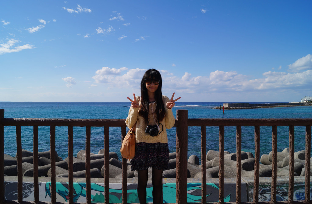 沖繩美國村海濱的Doris