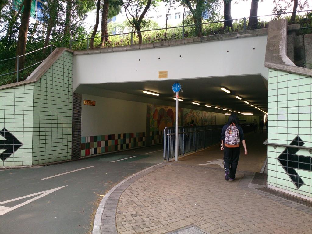 到東涌砲台隧道