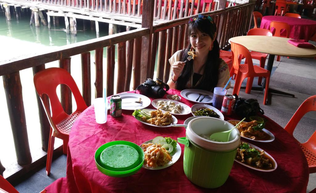 印尼巴淡島海鮮餐