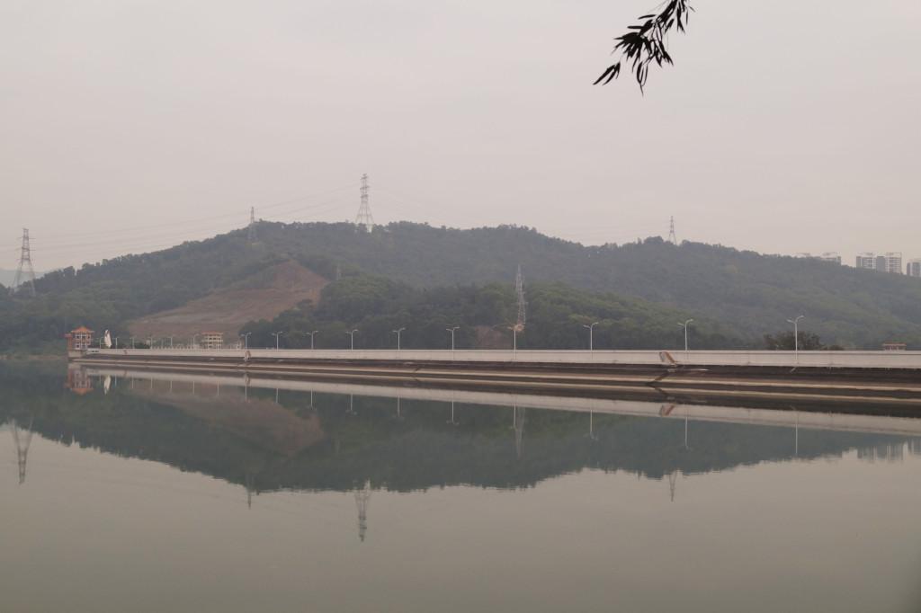 深圳水庫一景